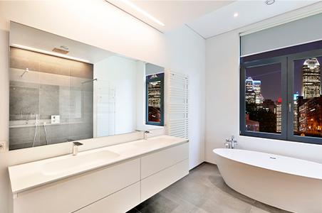 Verwendung LED-Streifen wasserdicht im Badezimmer