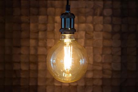 Stimmungsvolle E27 LED-Lampe