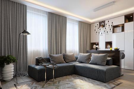 LED-Streifen im Wohnzimmer