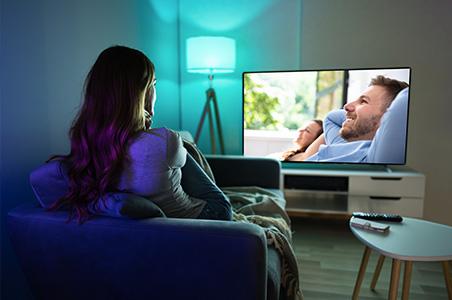 Smart HOME Beleuchtung im Wohnzimmer