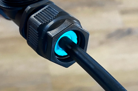 Verwendung eines Kabelverbinders