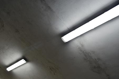 LED-Lichtleisten in der Garage
