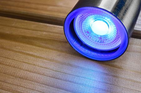 Smart Lampe für die Gartenbeleuchtung