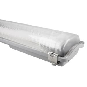 LED-Leuchtstoffröhren Halterung 120cm Aqua-Promo IP65 inkl. LED-Leuchtstoffröhre 2x 36W 4000K