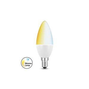Smart E14 LED Kerzenlampe 5,8W Weißtöne