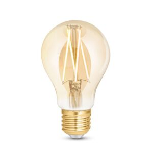 E27 SMART WLAN LED FILAMENT LAMPE WiZ A60 6,5W 2200-4500K AMBER