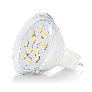 G4/GU4 LED-Lampe 35mm 12V 1,8W SMD 2900K dimmbar