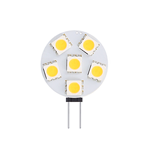 G4/GU4 LED-Lampe 12-24V 1W SMD 2900K dimmbar