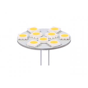 G4/GU4 LED-Lampe 12V 1,8W SMD 2900K dimmbar
