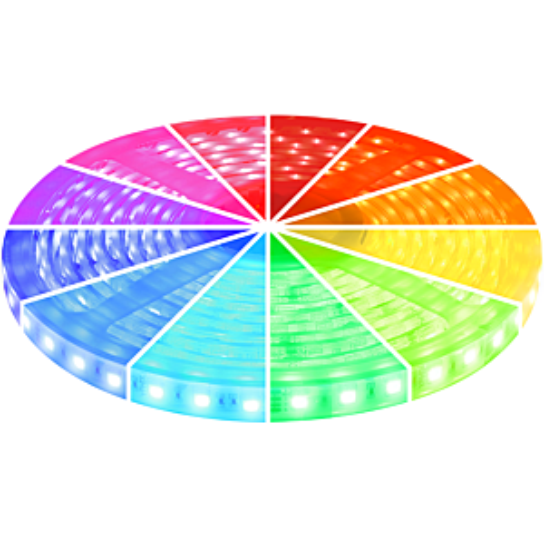 LED-Streifen 5m 12V RGB IP68 300 SMD 5050 LEDS