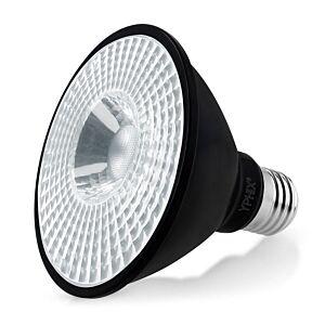 E27 LED-Lampe Pollux Par 30 11W 4000K dimmbar Schwarz