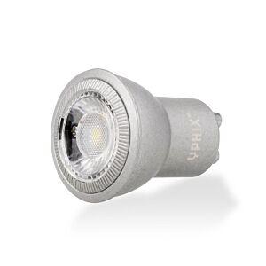GU10 LED-Lampe Naos MR11 4W 2700K dimmbar alu