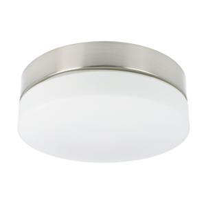 LED-Deckenleuchte Palma rund 28,5 cm IP44 Glas