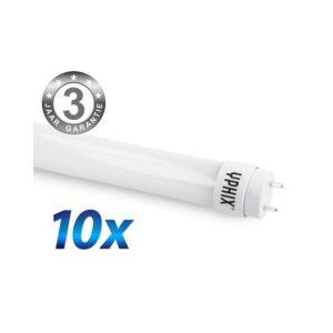 T8 LED-Leuchtstoffröhre 150cm Pro 10er-Pack 22W 4000K