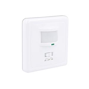 LED Bewegungsmelder Mauer Einbau Weiß