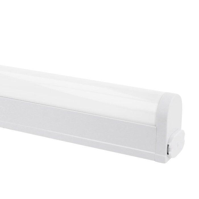 LED-Küchenbeleuchtung 55cm Linex Aufbau 7W sWeißch tone Aluminium