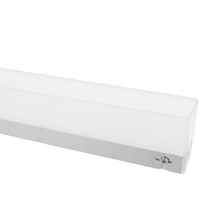LED-Spiegelbeleuchtung mit Switch Tone Sensor 40cm Lotis 7,5W chrome IP44