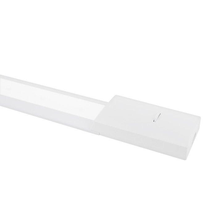 LED-Küchenbeleuchtung 60cm Risa Aufbau 10W 4000K Aluminium