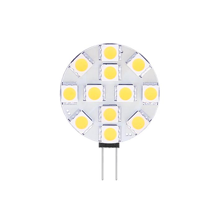 G4/GU4 LED-Lampe 12-24V 2,4W SMD 2900K dimmbar
