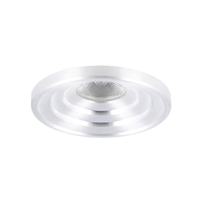 LED Einbaustrahler Arola rund 3W 2700K Aluminium IP55 dimmbar