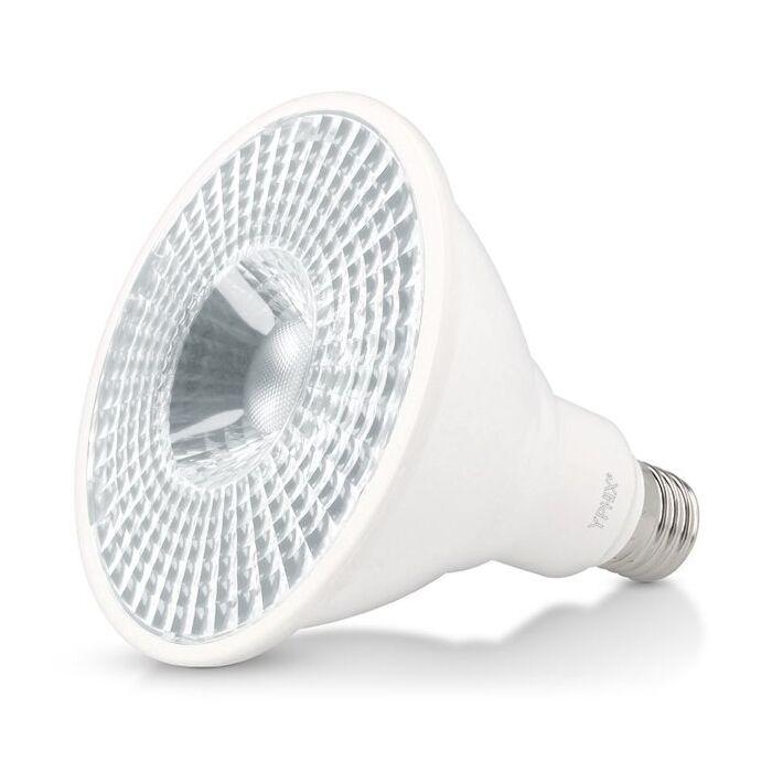 E27 LED-Lampe Pollux Par 38 17W 3000K dimmbar Weiß