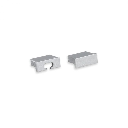 End caps Grau für LED-Streifen Profil Felita