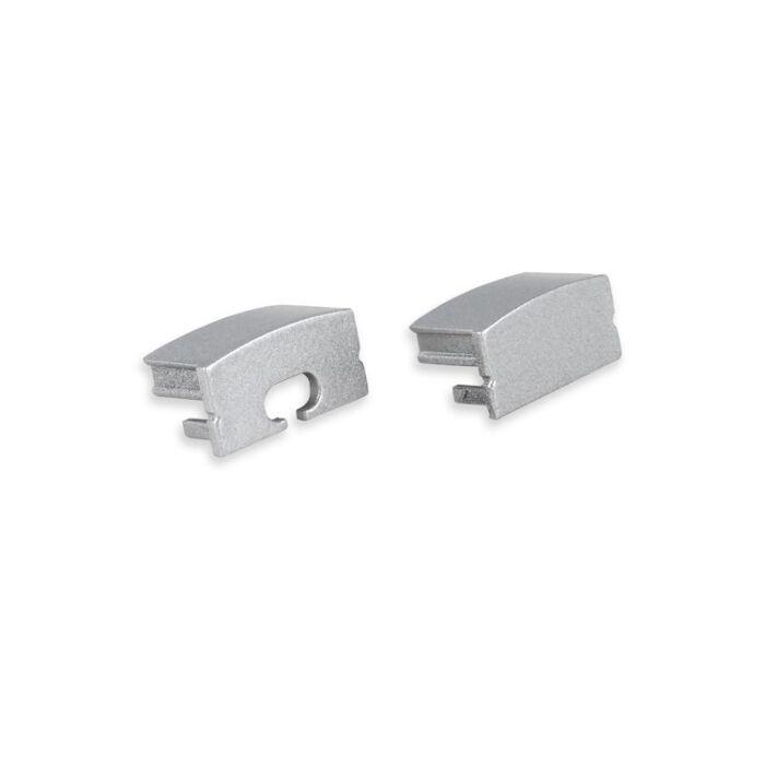 End caps Grau für LED-Streifen Profil Senisa