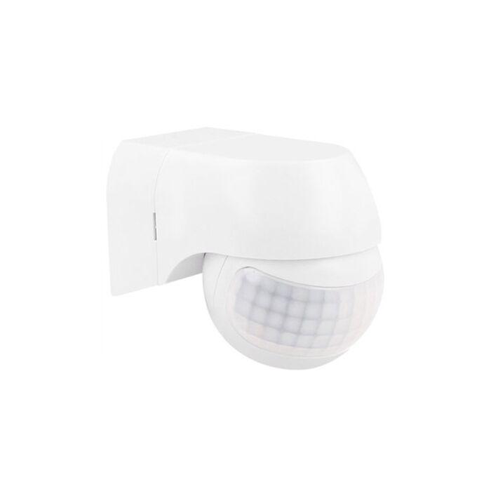 LED Bewegingsmelder Außen Mauer Aufbau Weiß IP44