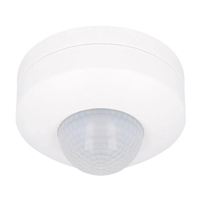 LED Bewegingsmelder Decke Aufbau Weiß 12m