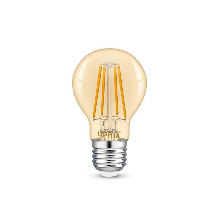 E27 LED Filament Lampe Atlas A60 4,5W 2200K dimmbar