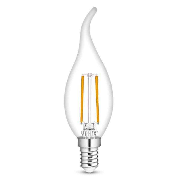E14 LED Kerzenlampe Polaris B35 2,5W 2700K transparent