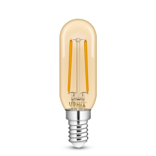 E14 LED-Lampe T24 Filament Atlas 2,5W 2200K gold dimmbar